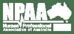 NPAA Logo white